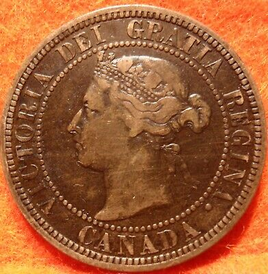 1882 H High Grade CANADA LARGE CENT Victoria COIN CANADIAN