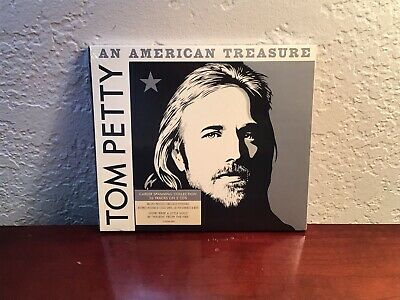 "TOM PETTY ""An American Treasure"" 2 CD (2018) Live, Compilation, NEW."