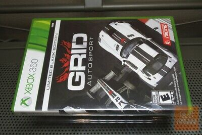 GRID Autosport Limited Black Edition (Xbox 360) FACTORY SEALED & MINT! - RARE!