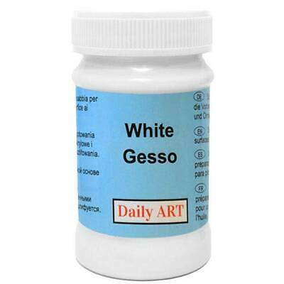 DailyArt White Acrylic Primer  Gesso 100ml Primer Transparent 60ml