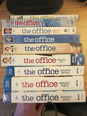 The Office Season 1 2 3 4 5 6 7 8 9 DVD and Blu Ray (season 9 sealed Blu Ray)