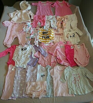 Size 0000 Baby Girl Clothes * Bulk Lot