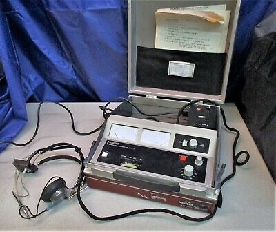 Madsen ZS76-1 Impedance Audiometer With Telex 1470 Headset