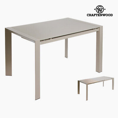 Mesa extensible gris by Craftenwood