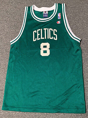 ec6f1dbb Vintage Antoine Walker Boston Celtics Champion Basketball Jersey Sz Youth  XL NBA