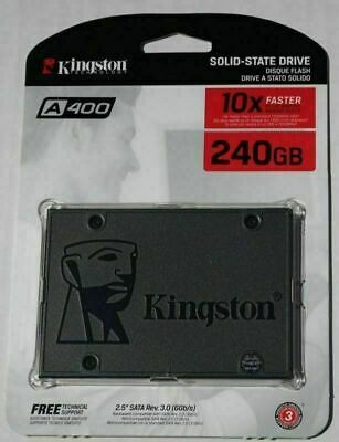 Für Kingston A400 SSD 240GB SATA3 2.5 '' Interne Solid State Drive  Notebook PC╦