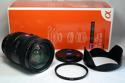 Sony Vario Sonnar 24-70mm f/2.8 ZA Lens for Sony A mount, full frame