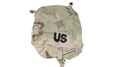 Military USGI Army Desert Camo MOLLE II Sustainment Utility Ammo Pouch Buttpack