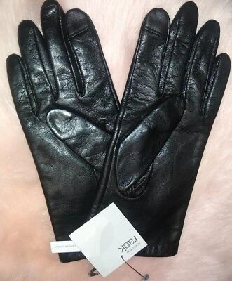Nordstrom Rack Leather Gloves NWT XL Lined