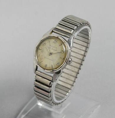 e2484b91d Vintage Bulova Men's Stainless steel 23 Jewel Automatic Starburst Dial Watch