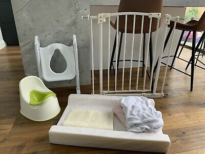 Baby change Mat With Non-slip & Covers, Safety Gate & Toddler Toilet Training