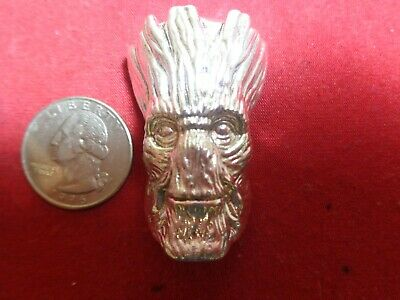 4 Troy ounce .999 Silver. Hand Poured Groot design ingot   MFS
