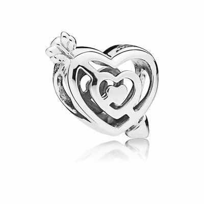 New Authentic Pandora Charms Sterling Silver Love Bracelet Charm Bead Pendant