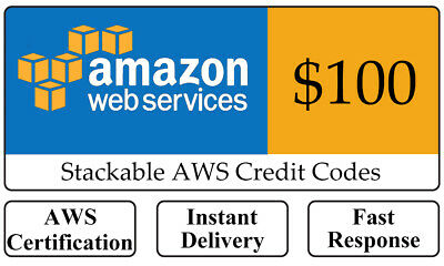 Instant Delivery - $150 Amazon Web Services AWS Lightsail EC2 Promo Credit Code
