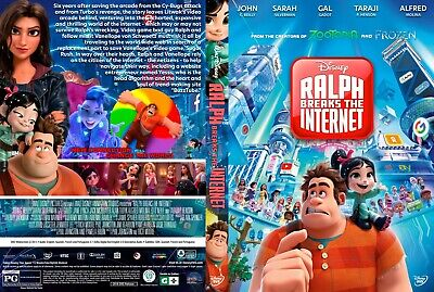 Ralph Breaks The Internet (DVD) 2019 ***NOW AVAILABLE***