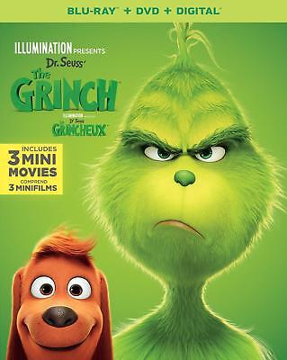 The Grinch (BLU-RAY, 2018)
