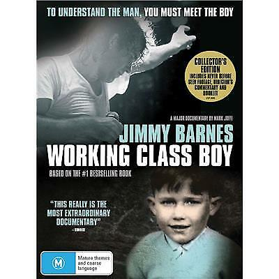 Jimmy Barnes : Working Class Boy (2018,Dvd,Collectors Edition)