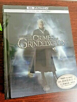 Fantastic Beasts The Crimes Of Grindelwald 4K UHD Blu-ray Digibook Lenticular