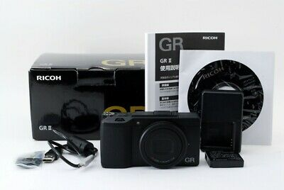 RICOH GR II 16.2 MP Digital Camera Black IN BOX From Japan [Exc+++]
