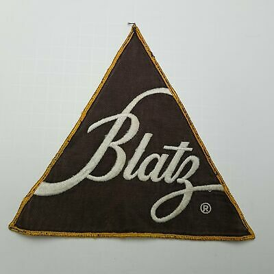 Blatz Beer Triangle Patch 8.25-Inch Base