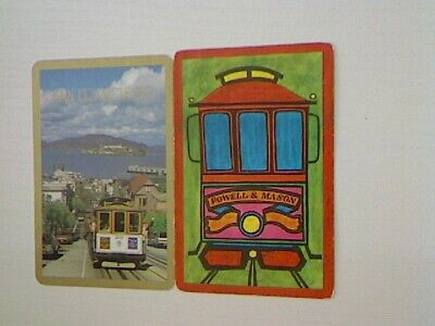"2 Swap/Playing Cards - ""San Francisco"" Tram Cars#"