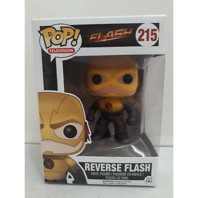 Flash Reverse Flash Pop Figure Funko Vinyl TV #215 DC CW JLA New MIB Mint