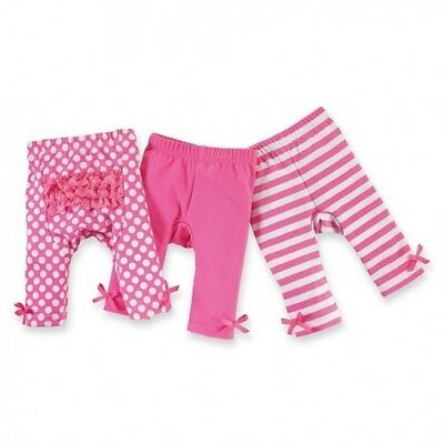 SET OF PLAYGROUND SHORTIES 2-3T Mud Pie HOT PINK DOTS & STRIPES Toddler 2 Pc NWT