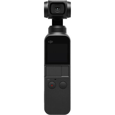 DJI Osmo Pocket Handheld 3-Axis Gimbal Stabilizer with Integrated Camera Black