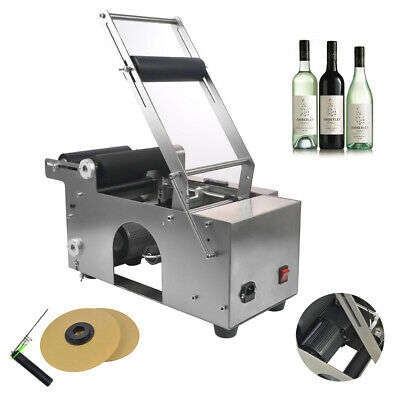 Semi-automatic Round Bottle Labeler Labeling Machine MT-50