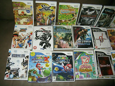 Nintendo Wii Games Wholesale Joblot Bundle Collection