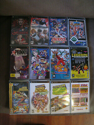 Sony Psp Games Wholesale Joblot Collection Bundle Rare Japanese Import