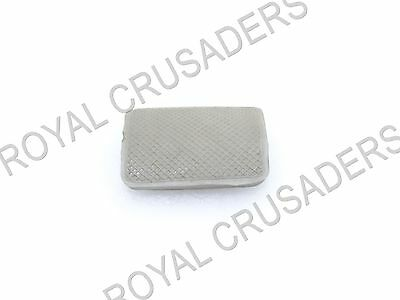 New Lambretta Gp, Li, Tv, Sx Sil Brake Pedal Rubber Grey #vp93 @justroyal