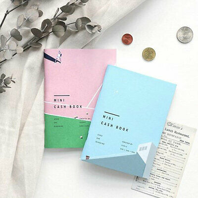ICONIC A6 Cash Book Money Planner Account Book Note Memo Pad Scheduler Organizer