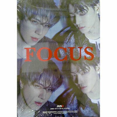 FOCUS by JUS2 The 1st Mini Album [B Ver.] JB Yugyeom GOT7