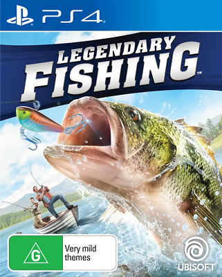 Legendary Fishing PS4 Game NEW
