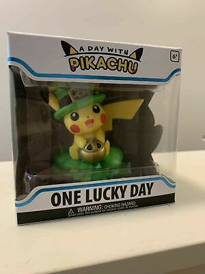 Funko A Day w/ Pikachu: One Lucky Day Pokemon Center In Hand - New! - Mint!
