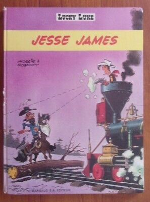 Lucky Luke Jesse James eo 1969