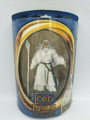 Lord of the rings action figure GANDALF THE WHITE toybiz LOTR rare,collectable