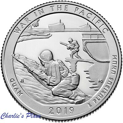 2019-S ATB War in the Pacific Quarter From Proof Set