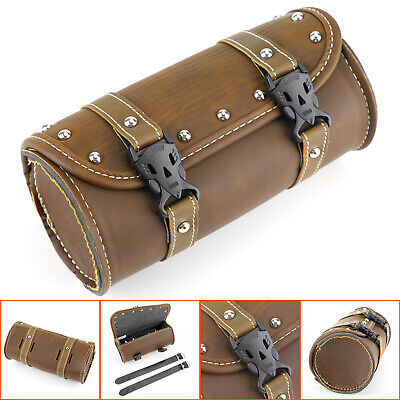 Motorcycle Universal Front Fork Tool Bag Pouch Luggage SaddleBag For Harley
