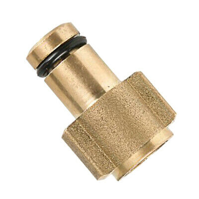 Solid G1/4 Snow Foam Lance Connector Pressure Washer Adapter Brass, Gold