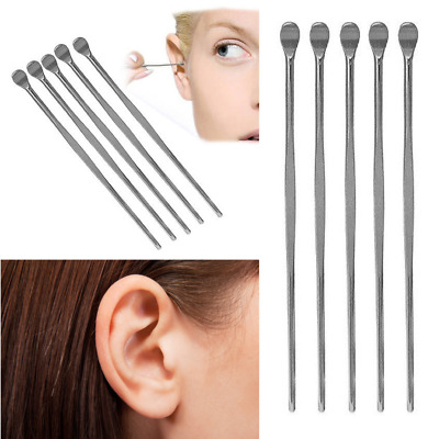 Stainless Steel Ear Pick Wax Curette Remover Cleaner Care Tool Earpick Clean A1