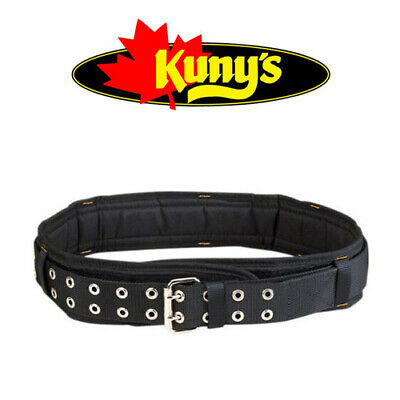 "KUNYS 3"" Padded 26 To 46in Work Double Buckle Belt, For Tool Pouch/Holder EL5623"