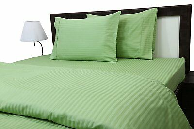 "Luxurious Bedding Set All Size Sage Solid 600 Thread Count Pure Cotton 15/"" Deep"