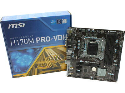 DOWNLOAD DRIVERS: MSI H170M PRO-DH