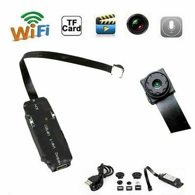 Sans fil  Nanny Cam WIFI IP Pinhole DIY Digital Video Camera Mini Micro DVR FR