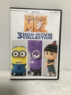 Despicable Me 2: 3 Mini-Movie Collection Dvd Movie (2009) Animated Comedy