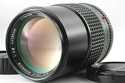 [ Exc+5 ]  Minolta MC Tele Rokkor PF 135mm f/2.8 Lens For MD Mount from JAPAN