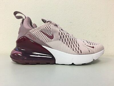 8b32e735c0 Nike Air Max 270 Barely Rose Vintage Wine AH6789 601 Pink White Womens Size  5
