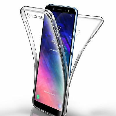 Shockproof 360 TPU Cover Front and Back Case for Samsung S7 edge S8 S9 S10 Plus